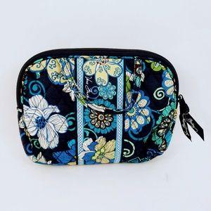 Vera Bradley Flower Zippered Makeup Bag